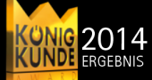 Ergebnisse König Kunde Award 2014/15